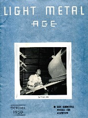 cover image October 1950