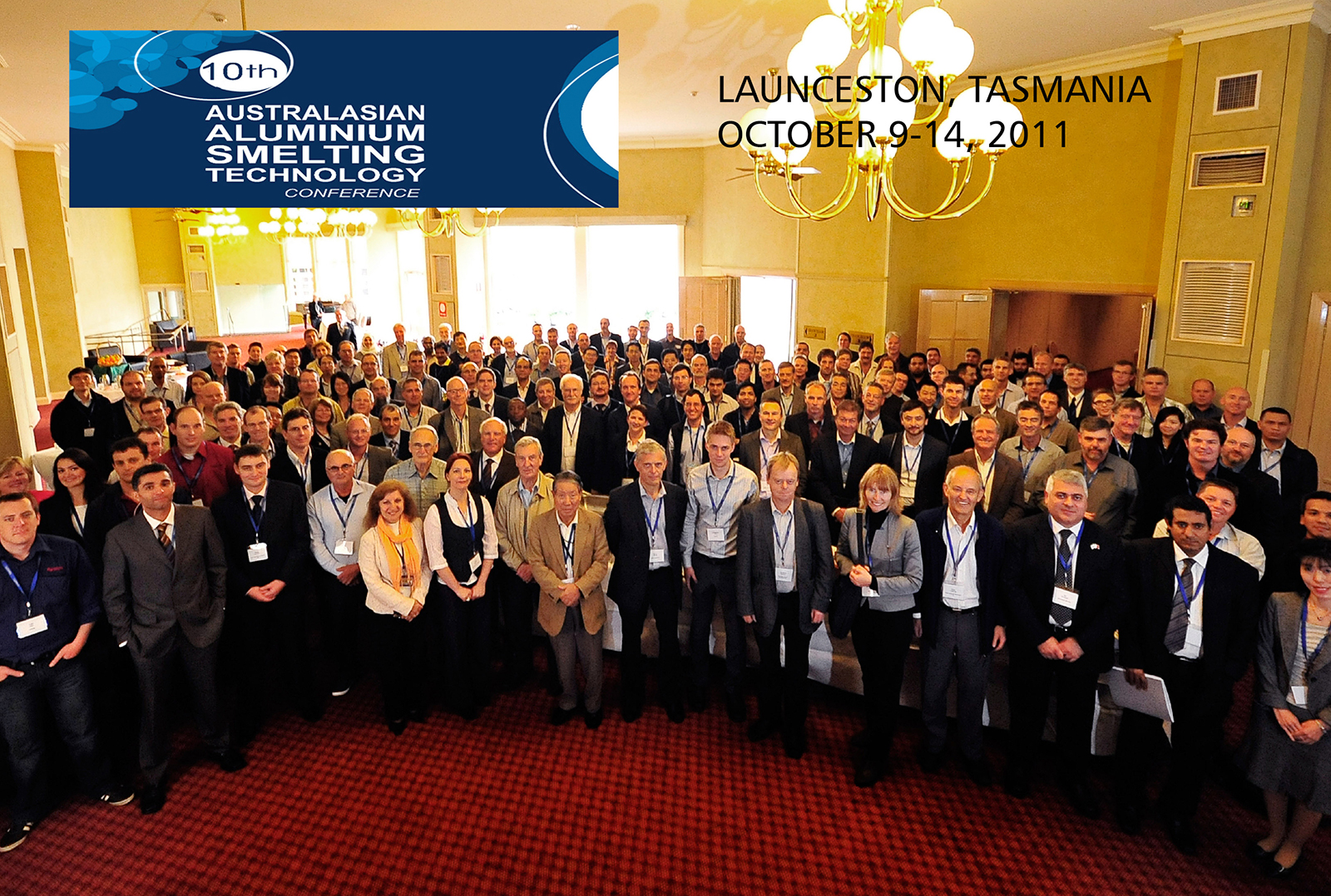 11th Australasian Aluminium Smelting Technology Conference