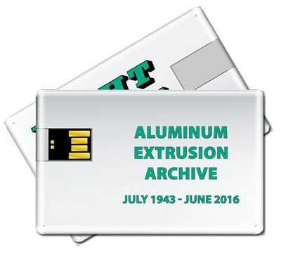 Aluminum Extrusion Archive Flash Drive