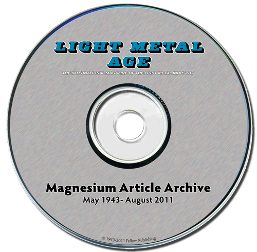 Magnesium Article Archive