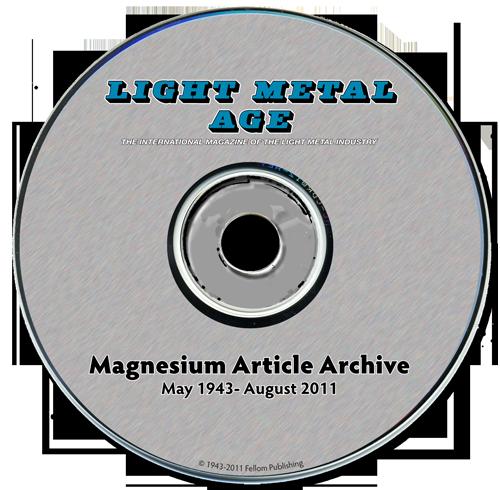 Magnesium Article Archive