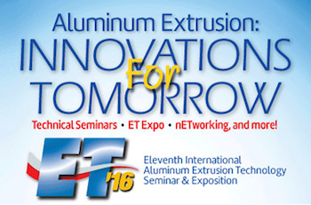 Extrusion Technology Conference 2016