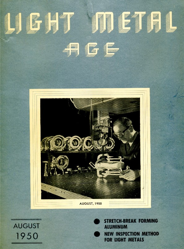 August 1950 Light Metal Age Magazine