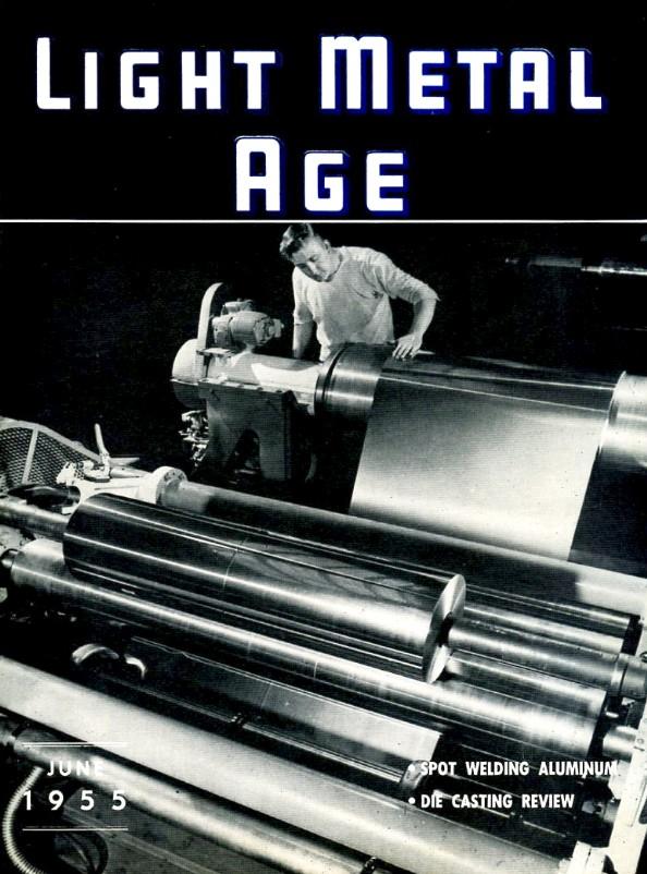 June 1955 Light Metal Age Magazine