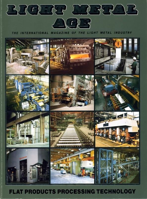 April 1991 Light Metal Age Magazine
