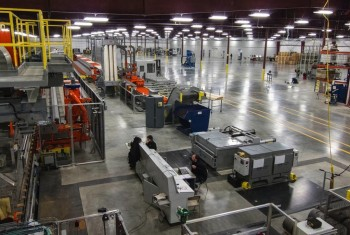 Whitehall Industries aluminum extrusion operation