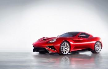 Icona Vulcano titanium car
