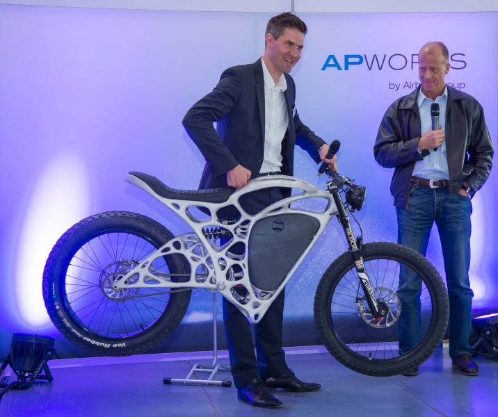 Airbus AP Works Light Rider motorcycle