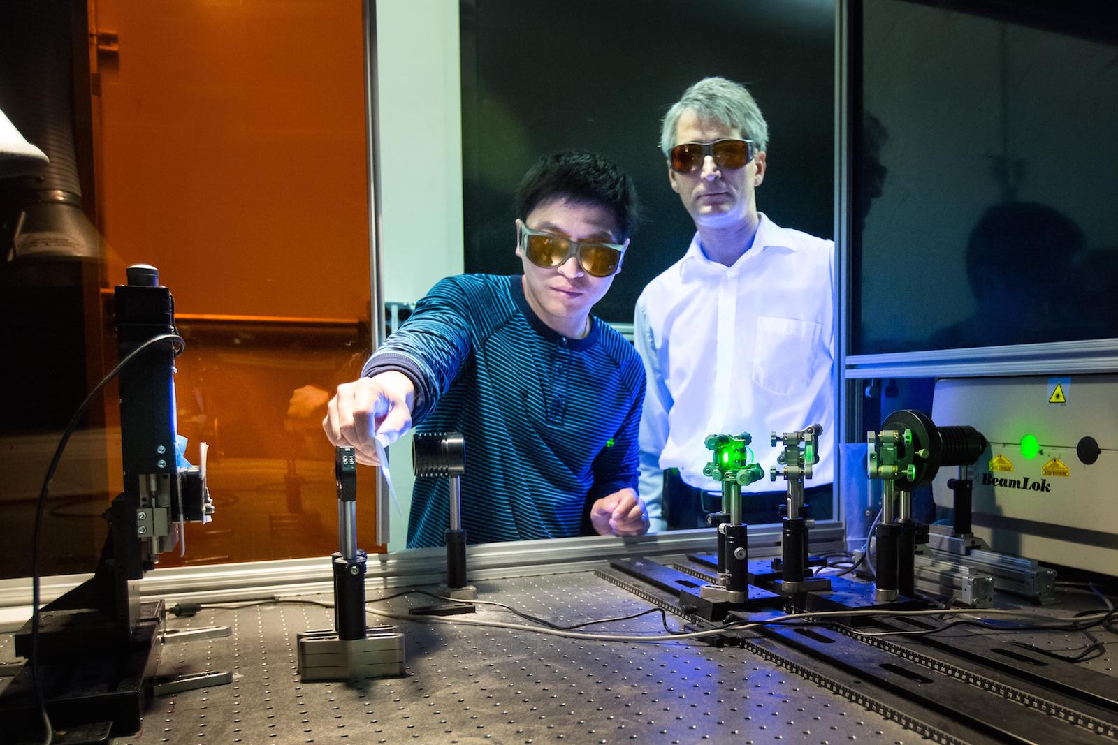 Oak Ridge National Laboratory - Laser Bonding