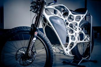 Airbus AP Works Light Rider motorcycle