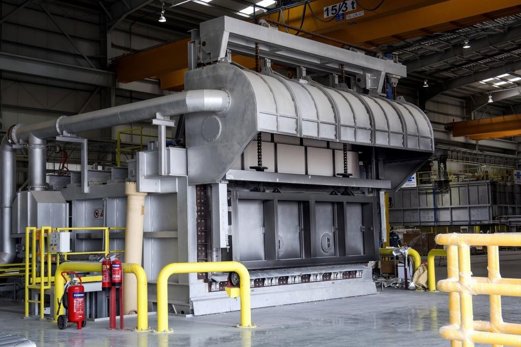 Talex casting furnace