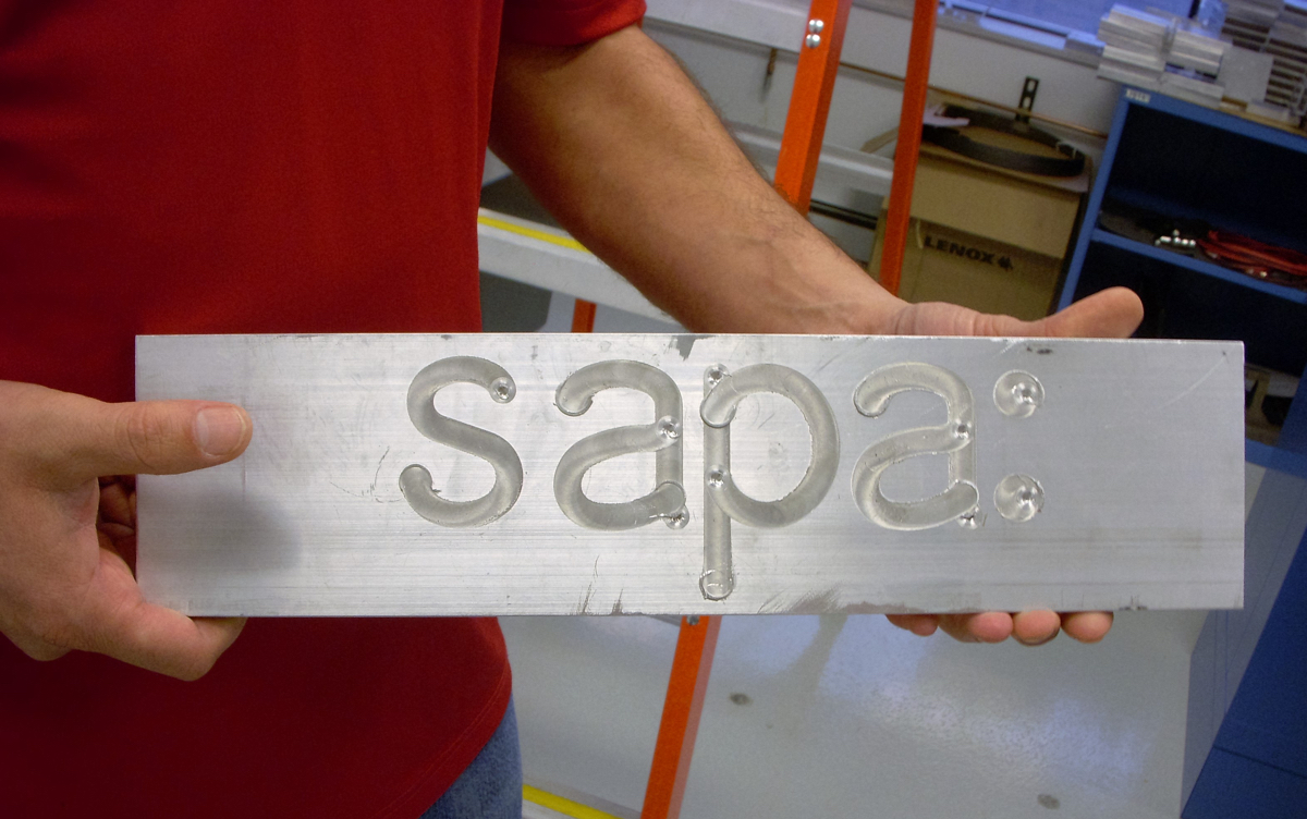 Sapa - friction stir welding