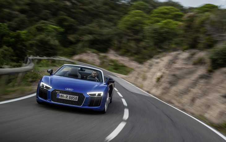 New Audi R8 Spyder Features Multi-Material Frame - Light Metal Age Magazine