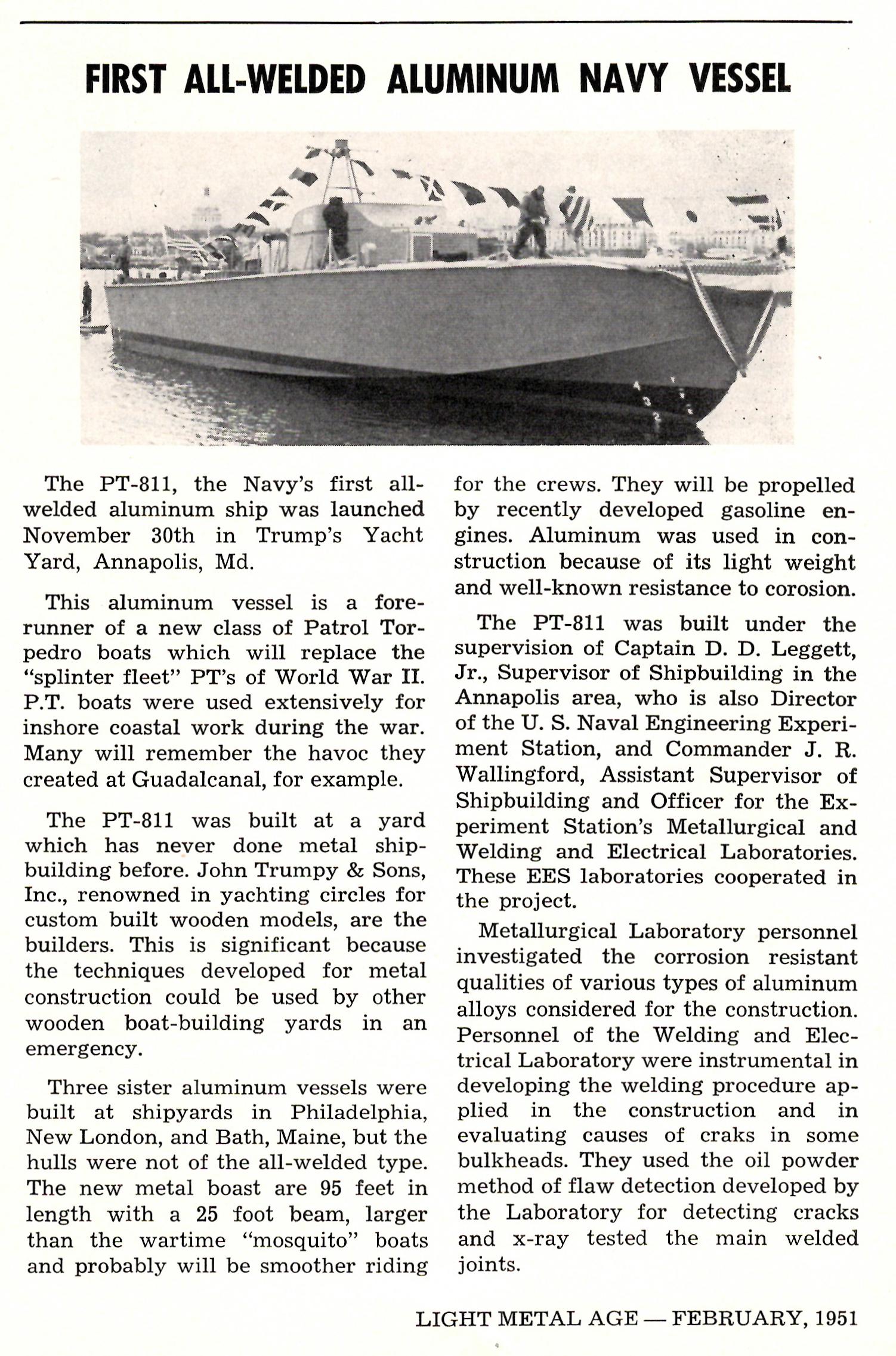 Light Metal Age, February 1951