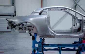 Renault - Alpine - aluminum frame
