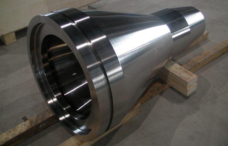 Kobe Steel - titanium forging