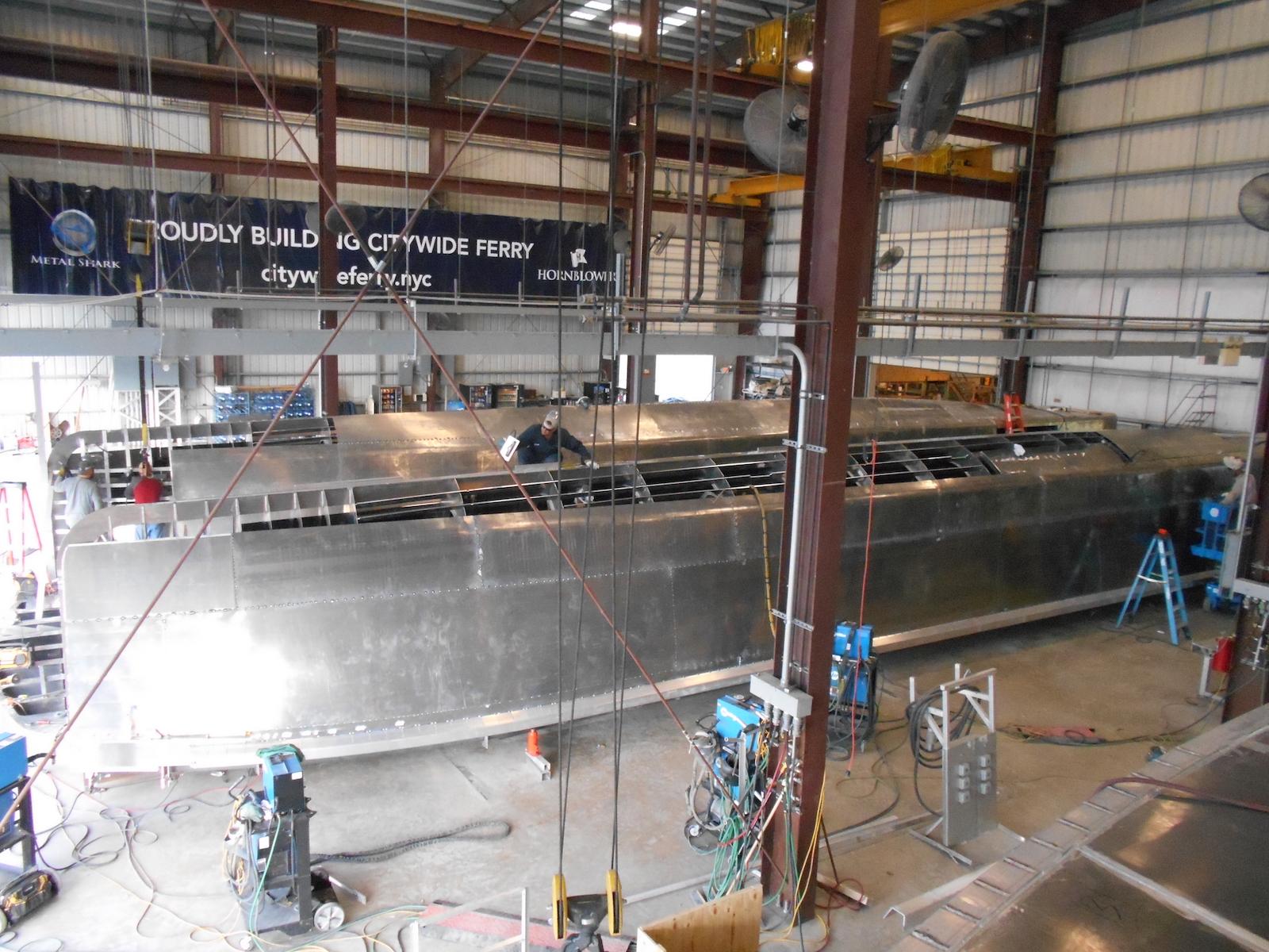Metal Shark shipyard
