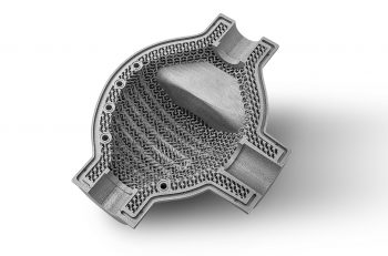 FIT and Caterpillar - additive manufactured part