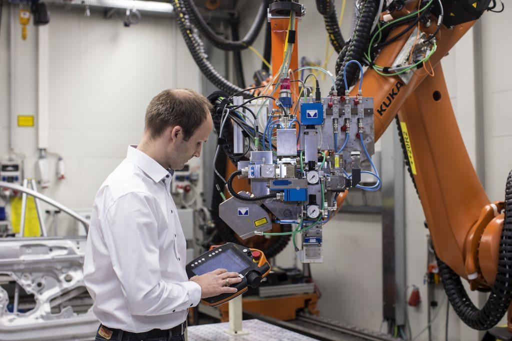 remote laser welding system.