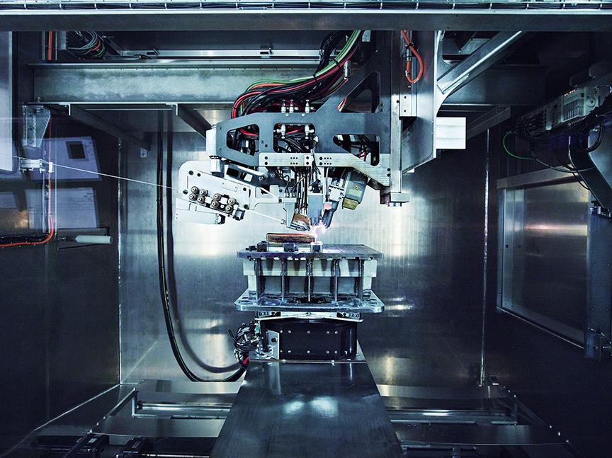 Norsk Titanium's patented MERKE IV RPD machine