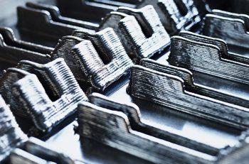 Titanium 3d-printed components