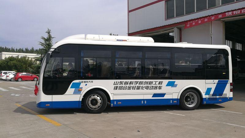 A lightweight magnesium alloy electric bus