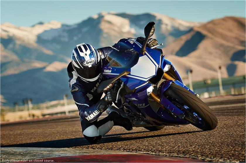 The new model of YZF-R1