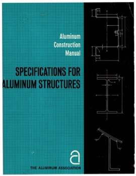 Specification for Aluminum Structures