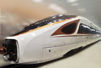 China Zhongwang- train