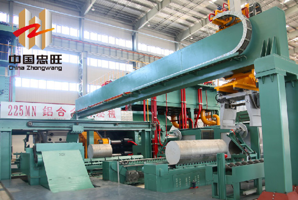 China Zhongwang - extrusion press