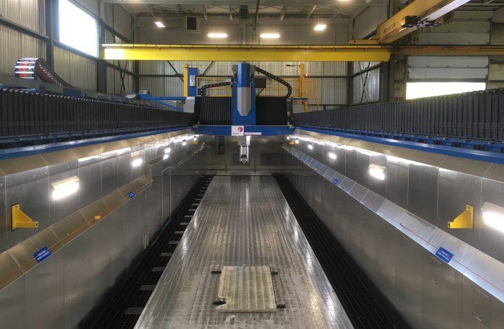Sonaca Montreal - new gantry mill