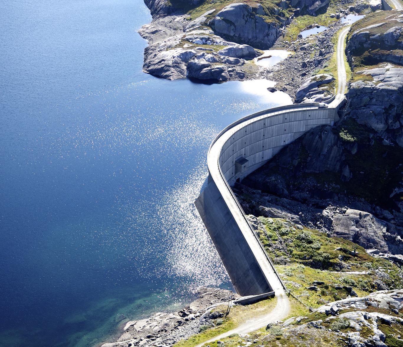 Røldal-Suldal power plants