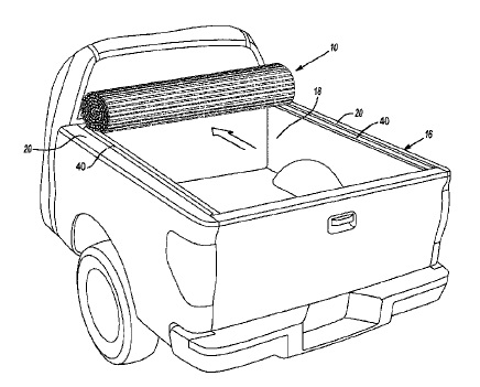 US9840135 — HARD ROLL-UP TONNEAU