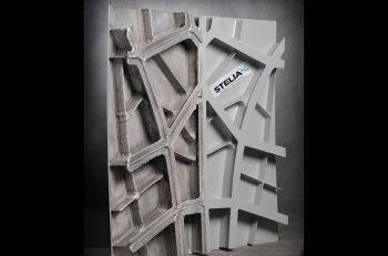 Stelia aerospace 3d printed fuselage panel