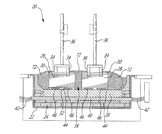 US9631289 — DRY CELL START-UP OF AN ELECTROLYTIC CELL FOR ALUMINUM PRODUCTION