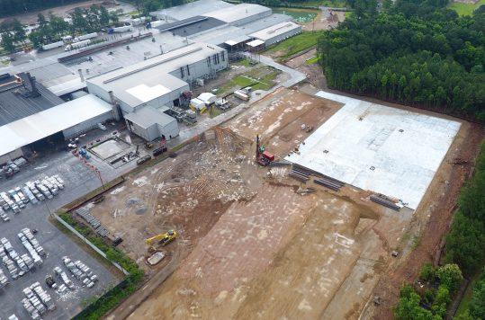 JW Aluminum expansion