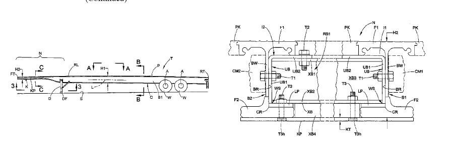USA9533721 — PLATFORM TRAILER WITH REINFORCED NECK