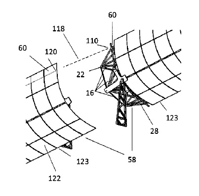 US9951971 — SOLAR MIRROR ARRAY SYSTEM, METHODS AND APPARATUSES THERETO