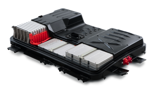 Figure 5. Steel battery enclosure for the Nissan Leaf.