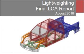 LCA Report: EDAG Silverado Body Lightweighting (August 2018)