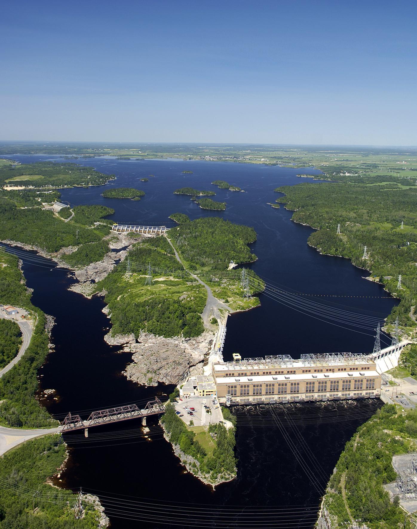 Rio Tinto – Shipshaw hydropower plant