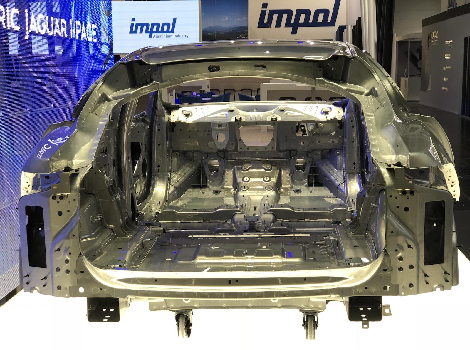 A view inside the Jaguar I-PACE architecture.