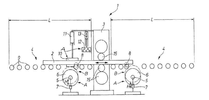 US8230711 — ROLLING MILL FOR ROLLING METALLIC MATERIAL