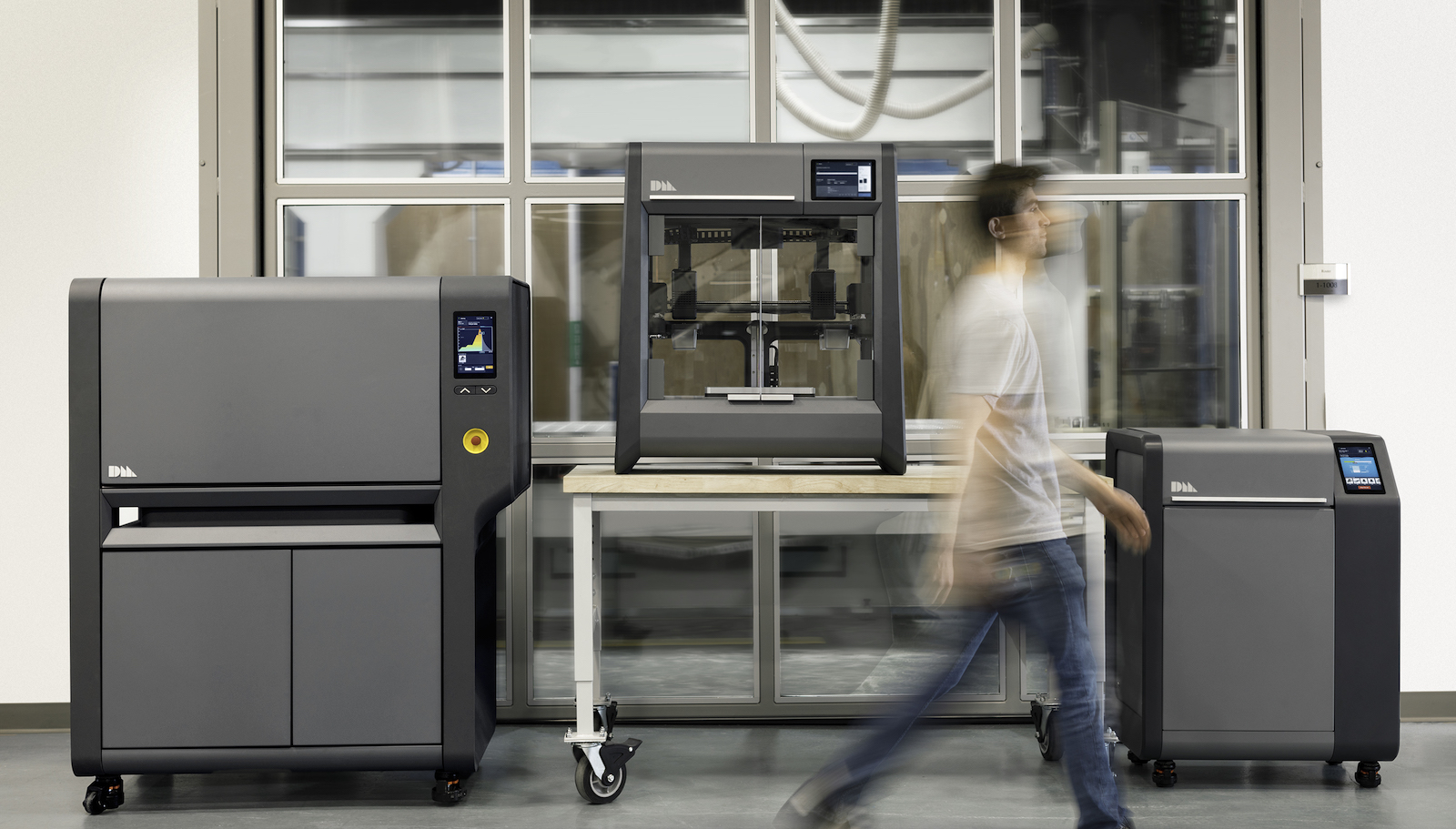 Studio System 3D printers were designed by Desktop Metal to be implemented in office environments.