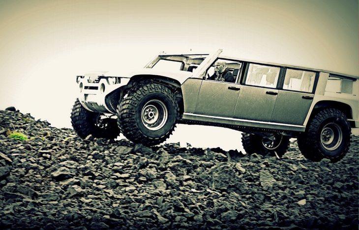 Isar - all-aluminum vehicle
