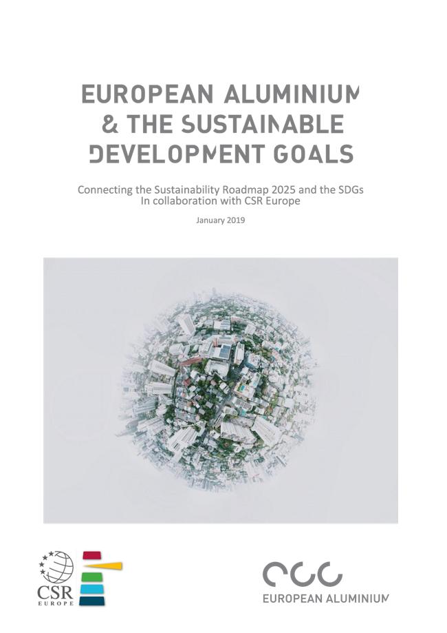 European Aluminium - Connecting the Sustainability Roadmap 2025 and the SDGs