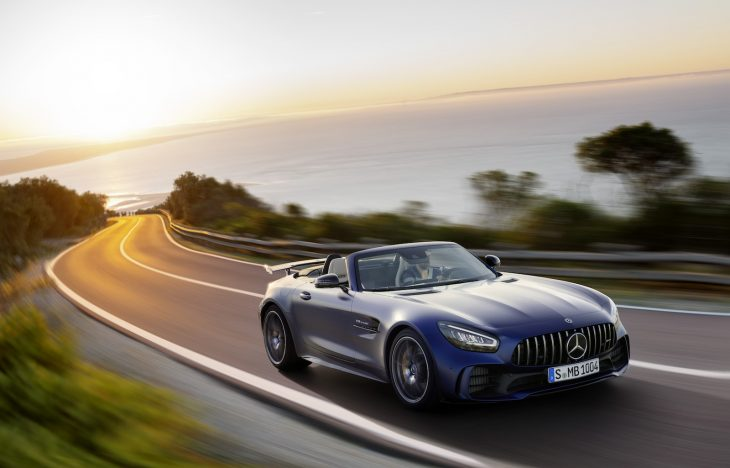 Mercedes Amg Gt R Roadster Utilizes Aluminum For Lightweighting
