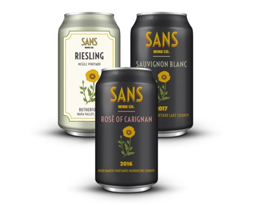 Sans - wine in cans