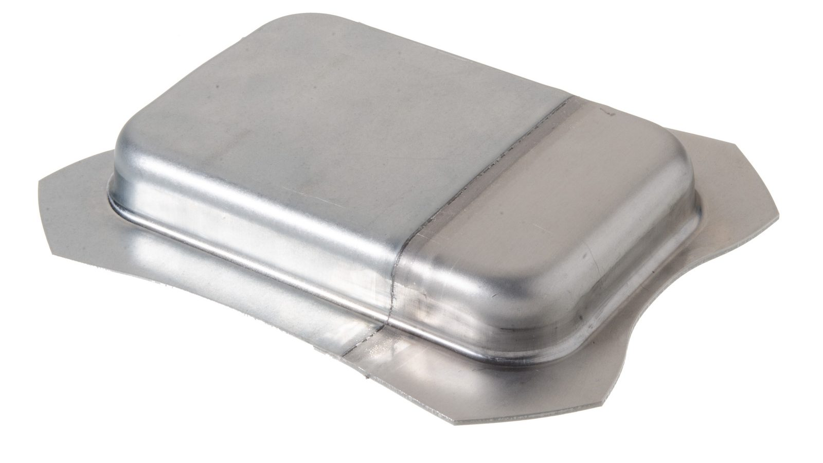 The seam is so stable that the hybrid aluminum-steel plates can even be deep drawn.