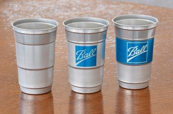 Ball Aluminum Cups